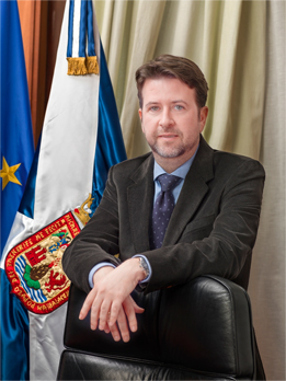 Carlos Alonso Rodríguez Presidente del Excelentísimo Cabildo Insular de Tenerife