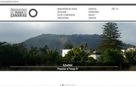 El Observatorio es una iniciativa del área de Cultura del Gobierno de Canarias, que surge tras la segunda Bienal de Arquitectura, Arte y Paisaje. Desde 2008 viene trabajando en la implementación del compromiso de Canarias con la Convención Europea del Paisaje, siendo uno de los territorios pioneros en el Estado Español y en la Unión […]