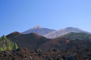 Dorsal de Abeque, Chinyero, Santiago del Teide