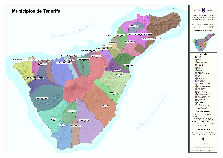Otros Mapas Paisajes Tenerife